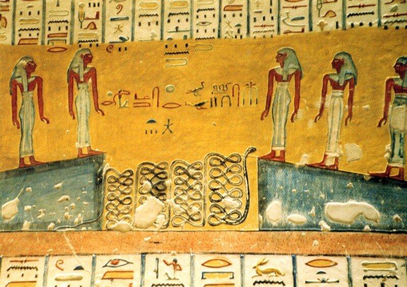 KV 2 - Tomb of Ramesses IV